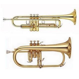 Différence entre une trompette en Sib et un bugle (saxhorn soprano)